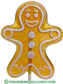 Gingerbread Man Lollipop