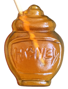 Whirl-Ease-Honey Pot, Hot Beverage Sweetener, Honey Stirrer