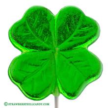 Lucky Four Leaf Clover Lollipop