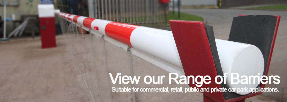 Range of Barriers commercial retail public private car park applications
