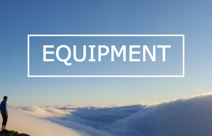 outdoor equipment; backpacks, camping and ski kit