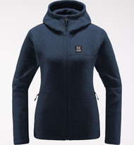 Haglofs Swook Hood Women Tarn Blue