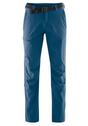 maier sports nil pant | ensign blue | front