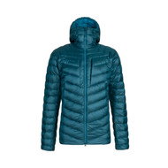 mammut broad peak IN hooded jacket men | wing teal - sapphire