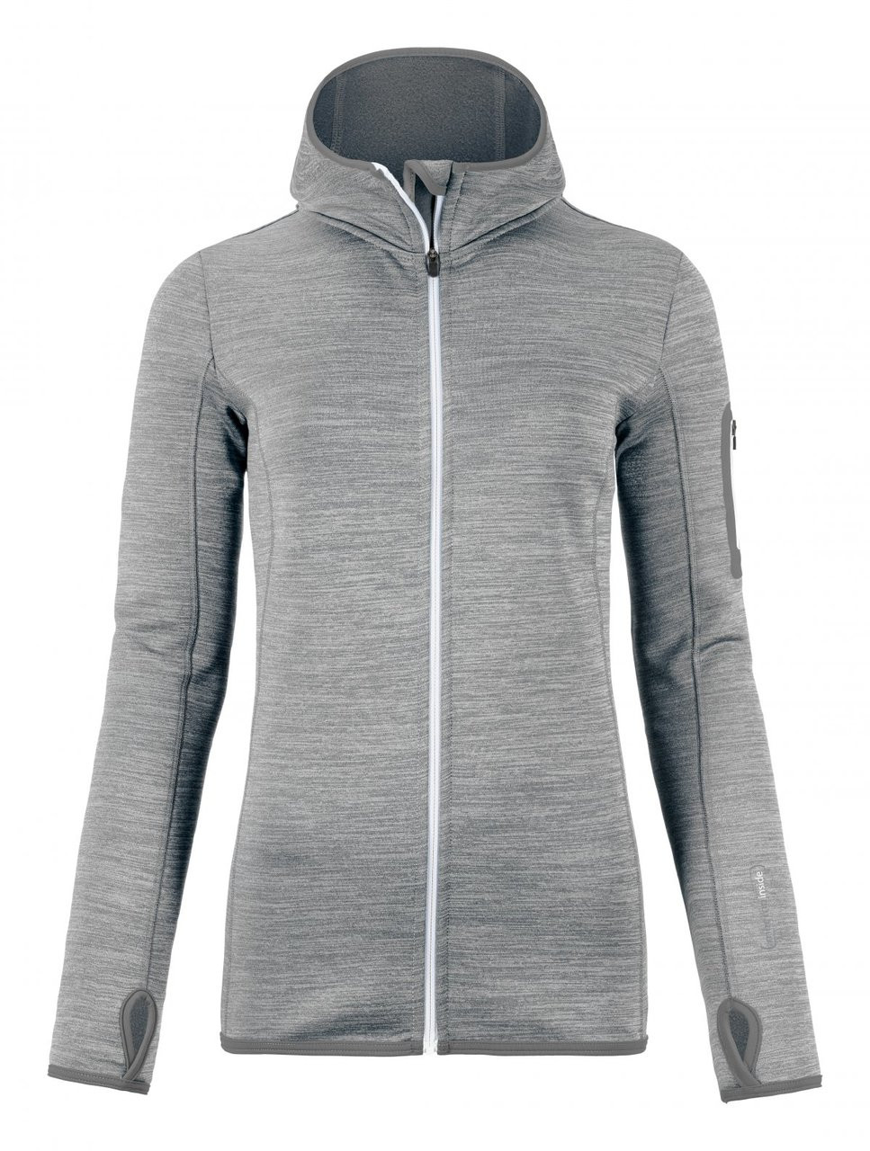 Ortovox Fleece Melange Hoody - Grey Blend