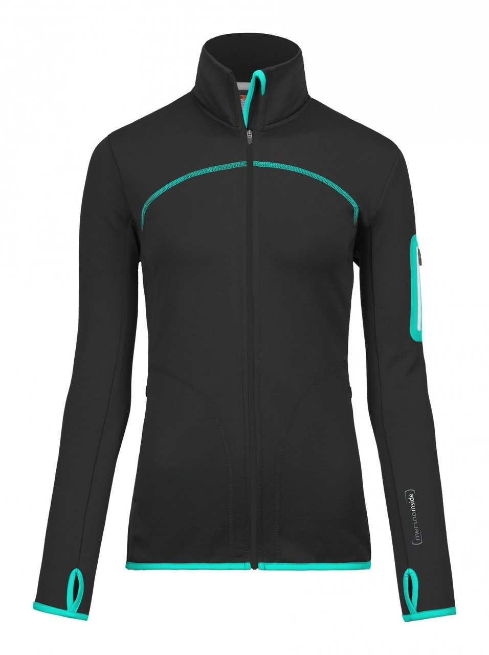 Ortovox Fleece Jacket W - Black Raven