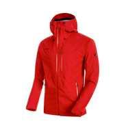 Mammut Kento HS Hooded Jacket Men - magma