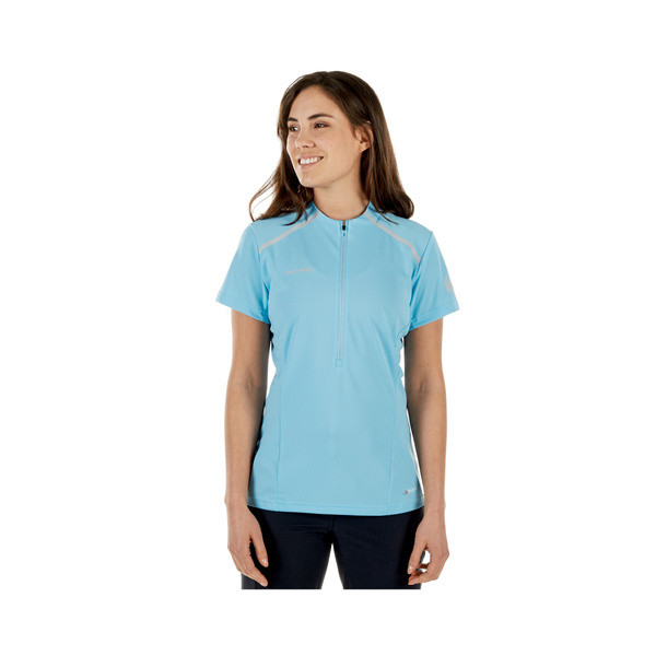 Mammut Atacazo Light Zip T-Shirt - whisper