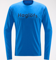 Haglofs Ridge LS Tee Men - Storm Blue