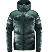 haglofs mojo down hood men mineral, mens down jacket