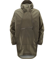 Haglofs Rapak Poncho Dune | men's waterproof jacket front