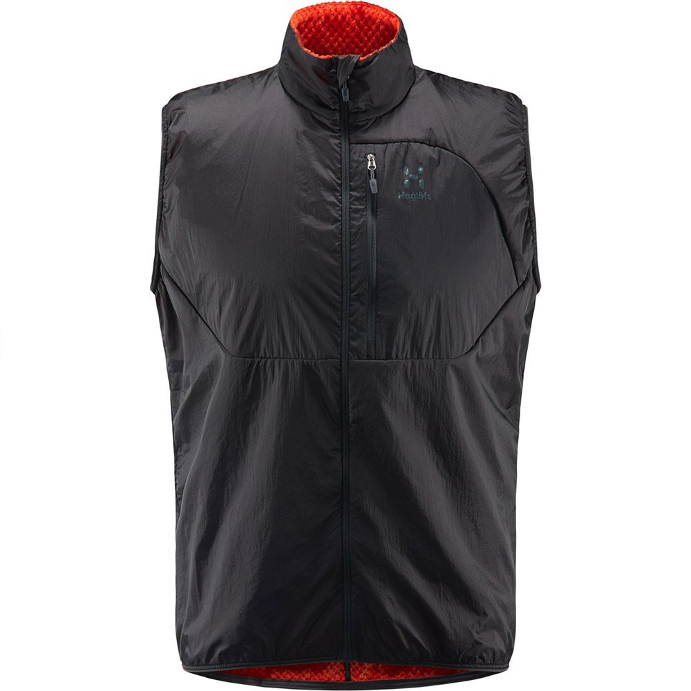 Haglofs Proteus Vest Men Slate/Pop Red