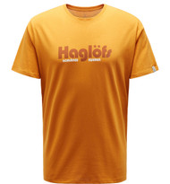 haglofs camp tee men desert yellow | men's t-shirt