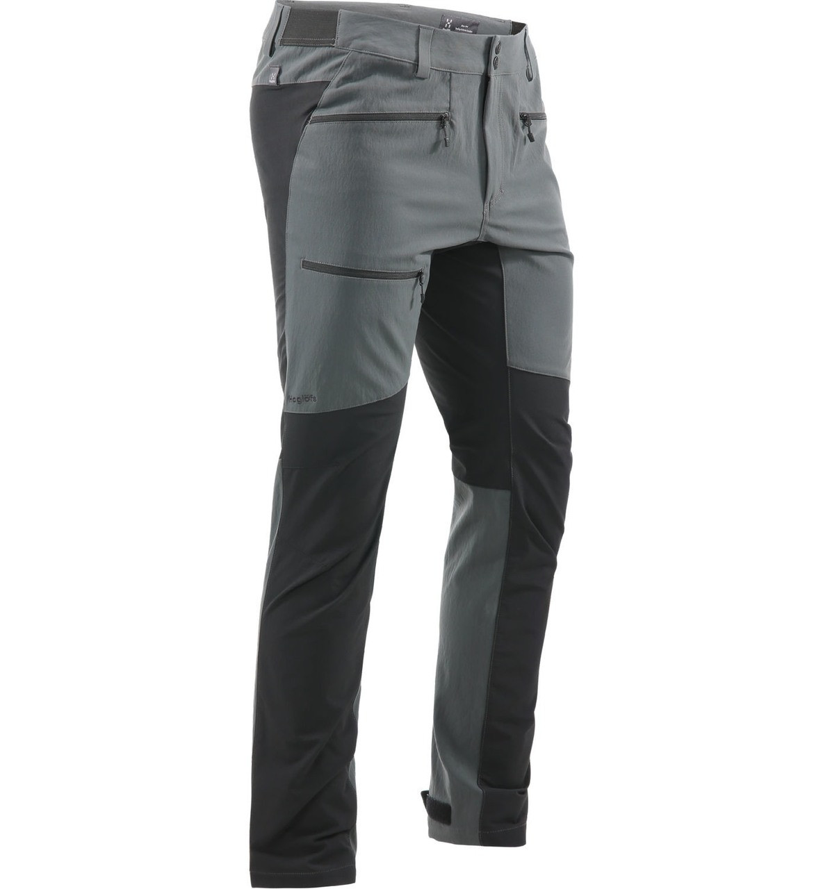 Haglofs Rugged Flex Pant Men Magnetite/True Black | walking pant side