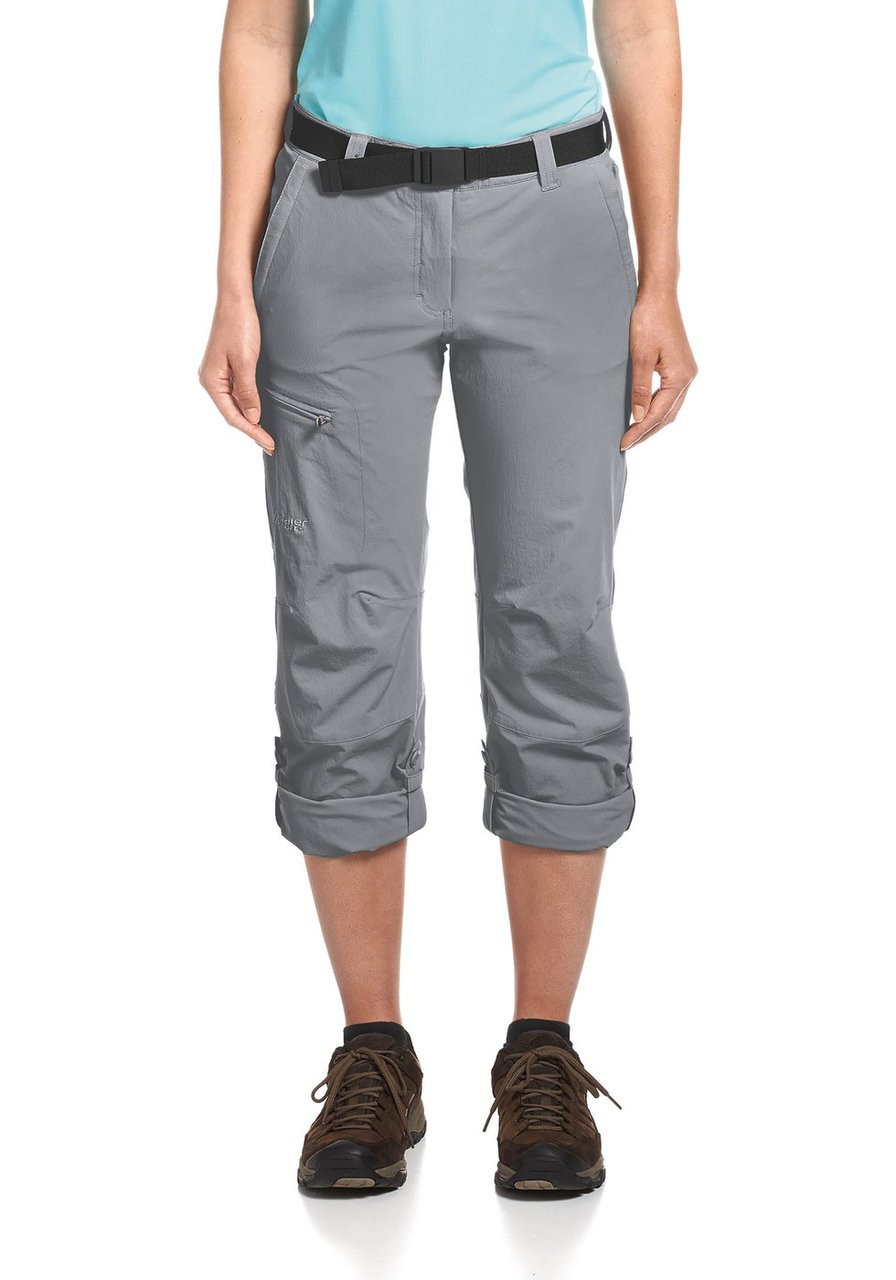 maier sports lulaka pants | sleet | roll up