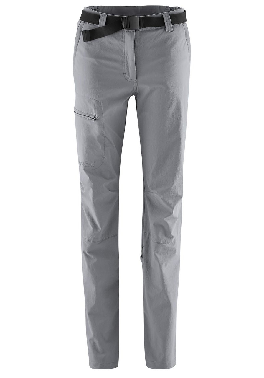 maier sports lulaka pants | sleet | front
