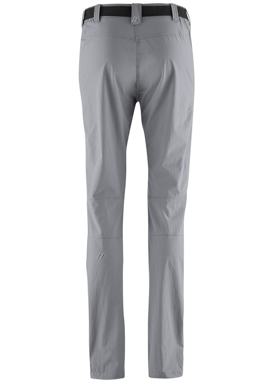 maier sports lulaka pants | sleet | back