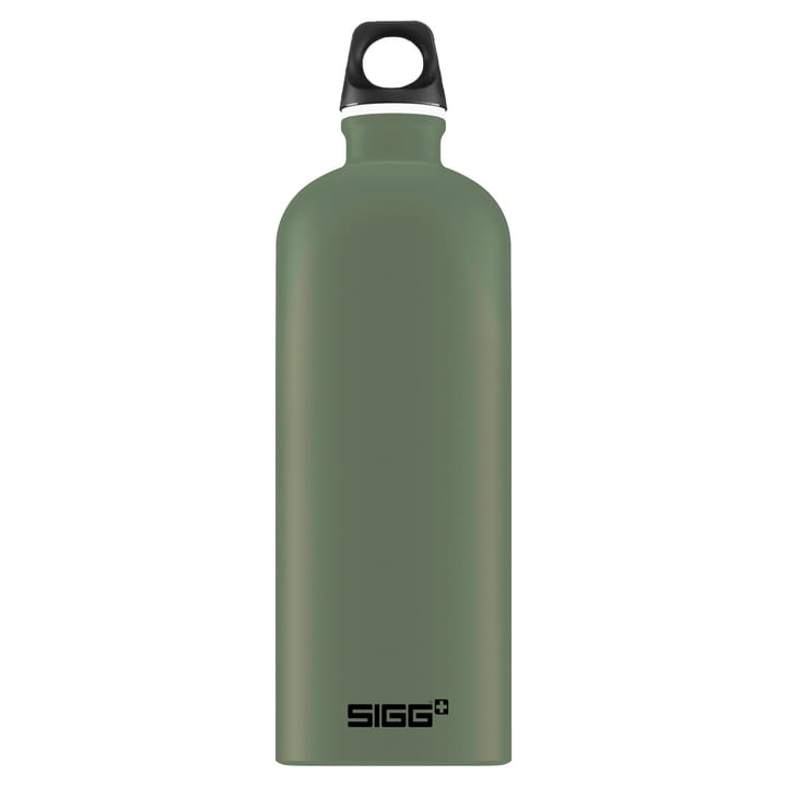 Sigg Water Bottle Traveller - 1l - Leaf Green