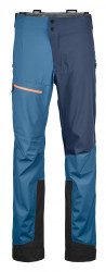 ortovox 3L ortler pants men blue sea front