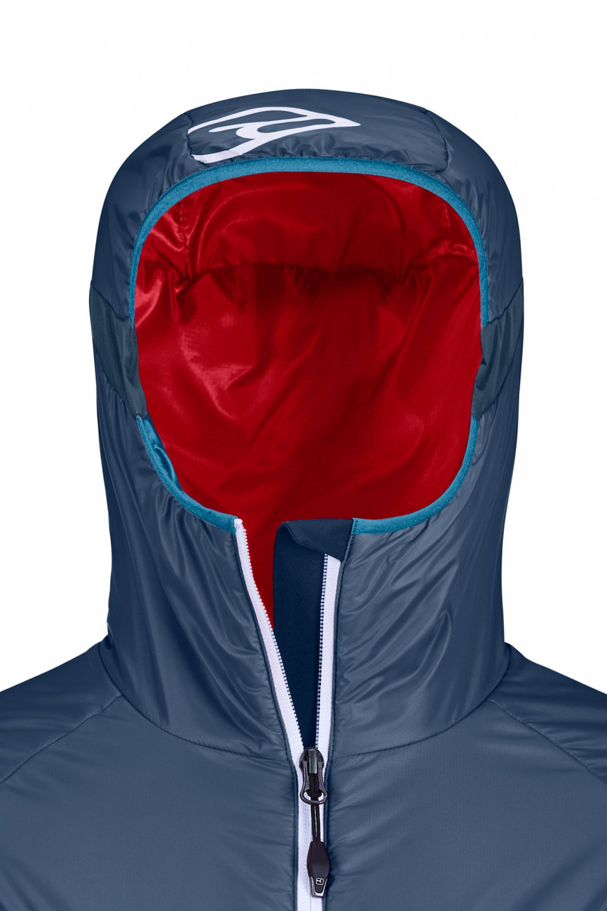 ortovox lavarella jacket women night blue hood
