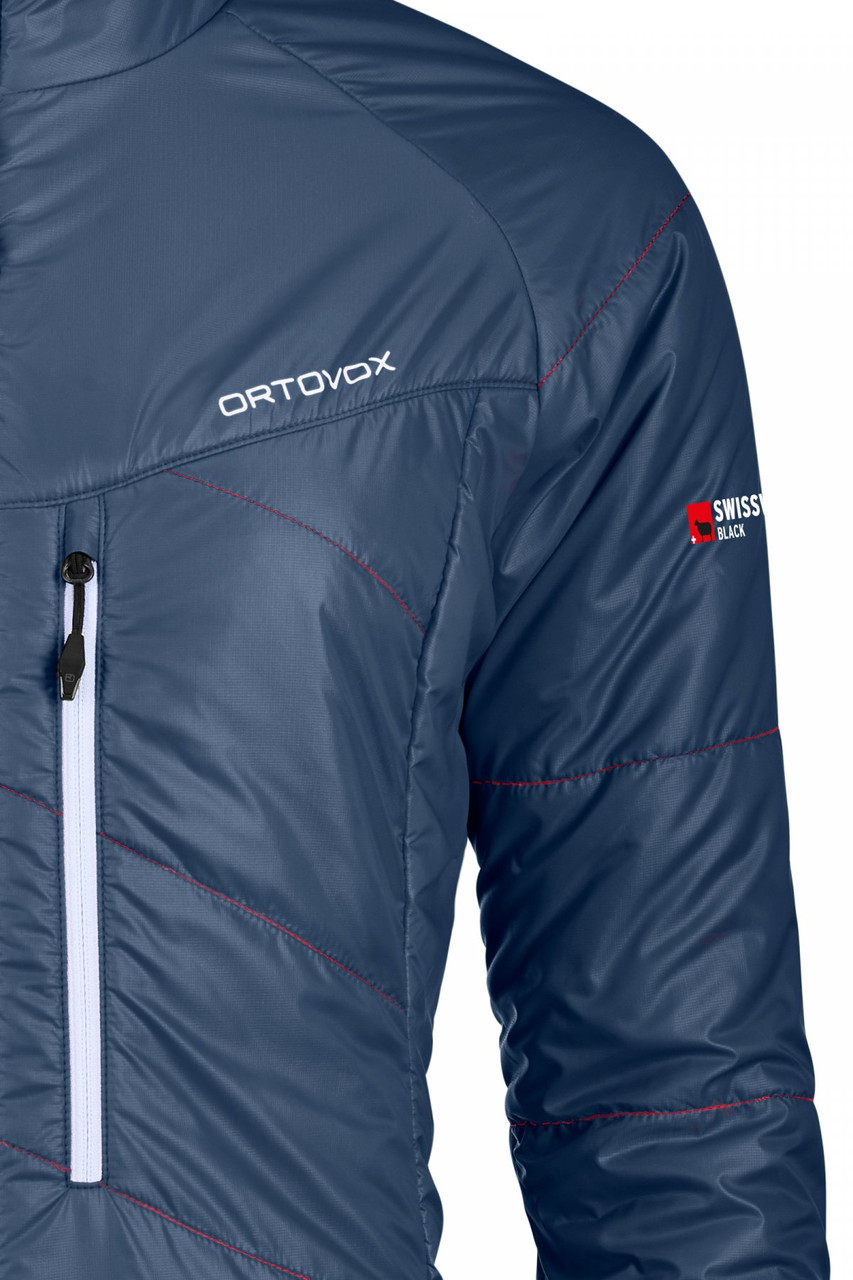ortovox lavarella jacket women night blue insulated jacket