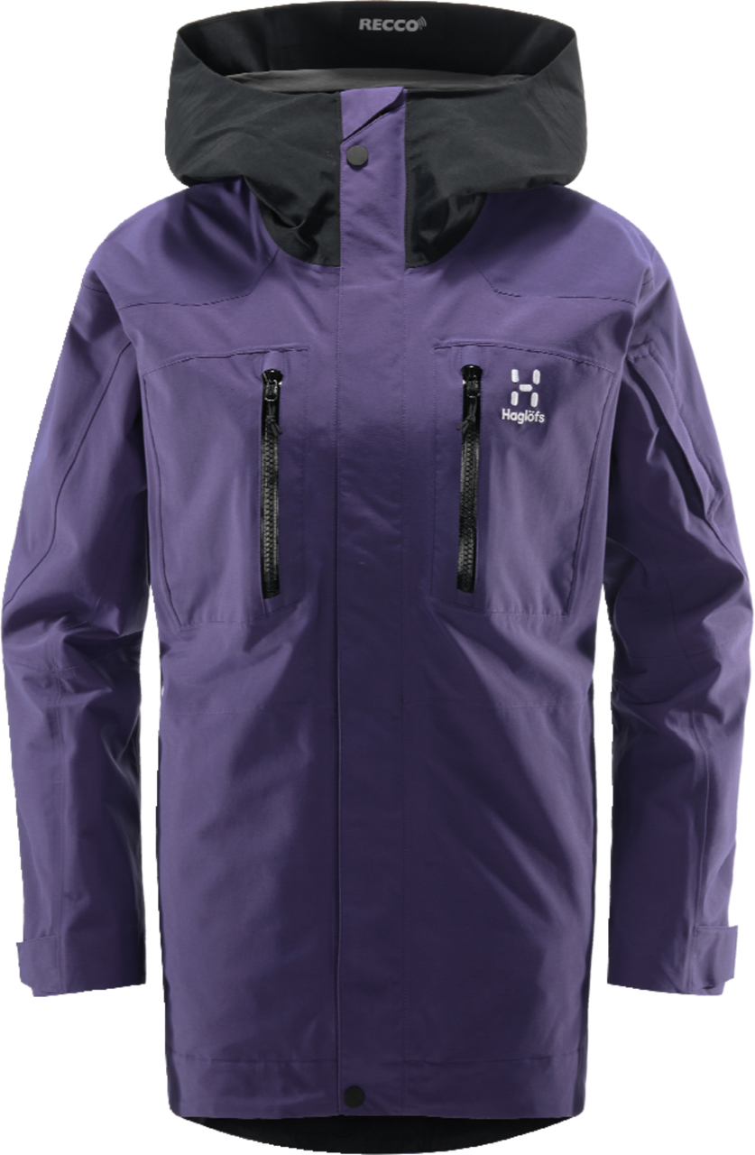 Haglofs Elation GTX Jacket Women Purple Rain / True Black