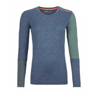 Ortovox 185 Rock'N'Wool Long Sleeve W Night Blue Blend