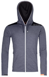 Ortovox Merinoterry Hoody M Black Steel Blend