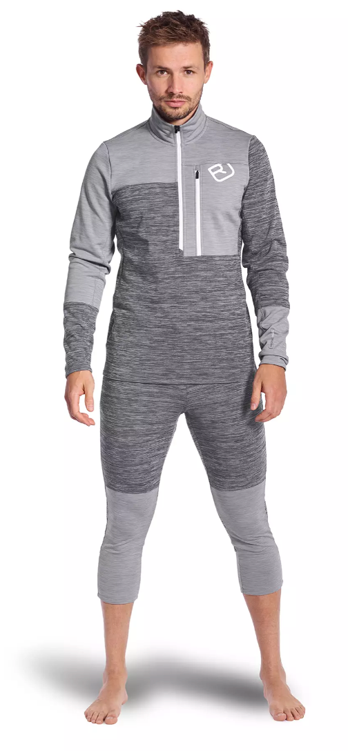 ortovox fleece light pants | ski base layer