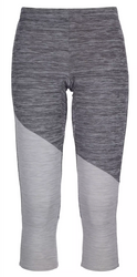 ortovox fleece light short pants | grey blend