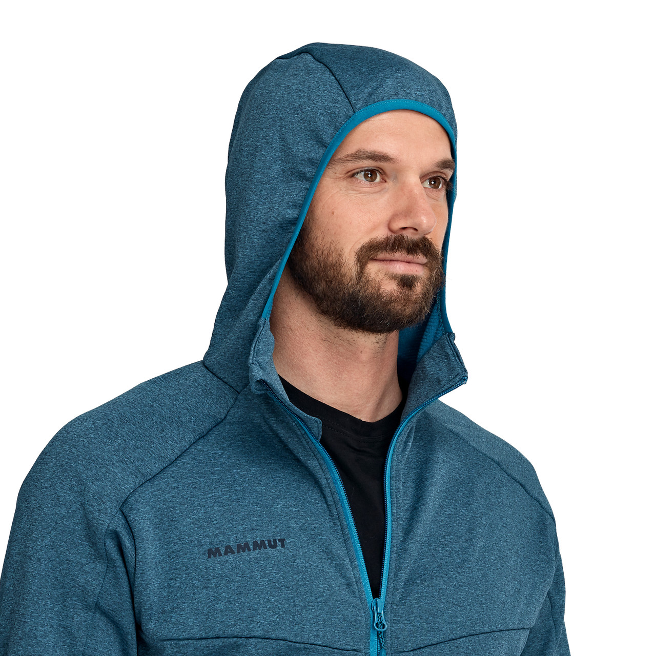 Mammut Nair ML Hooded Jacket Men Sapphire Melange