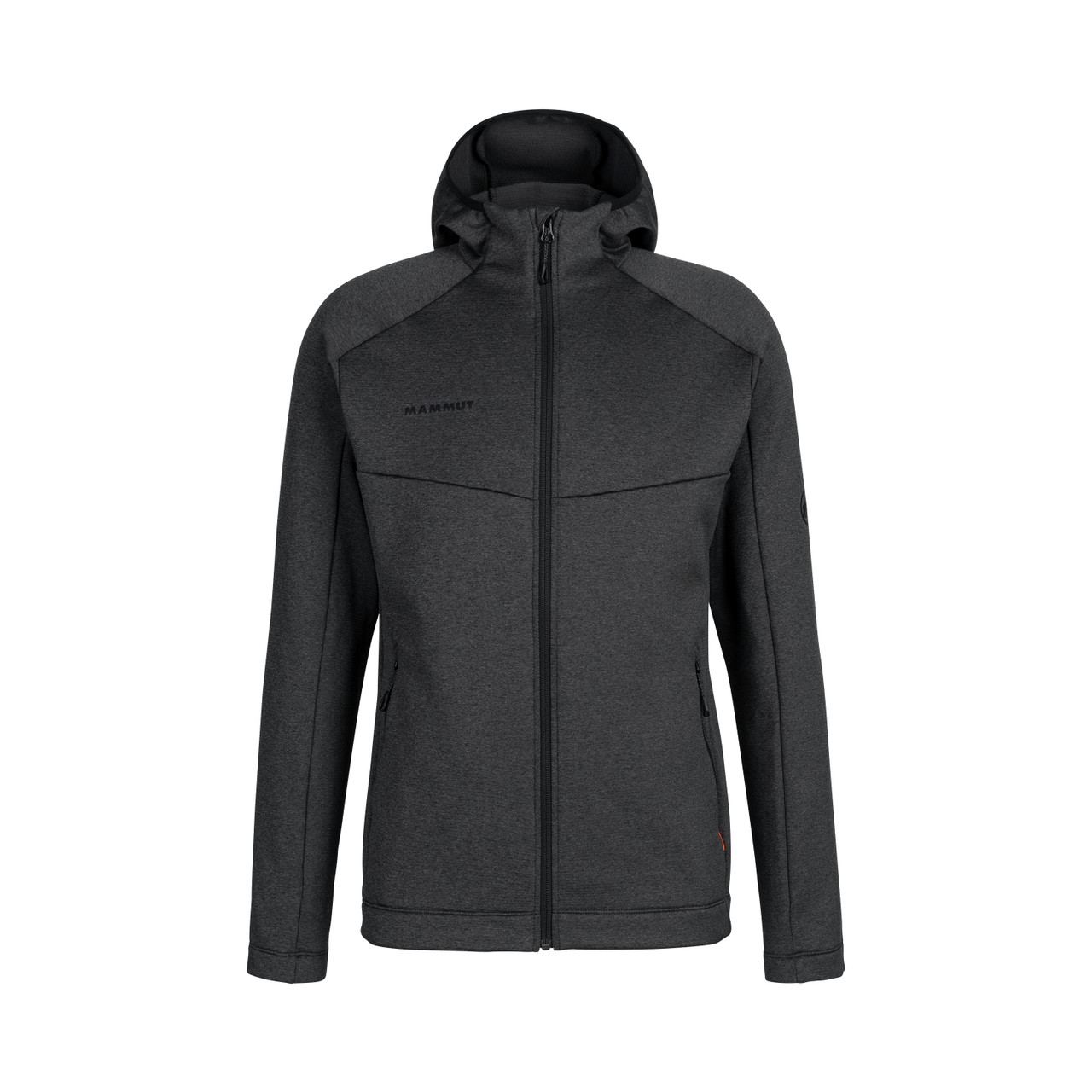Mammut Nair ML Hooded Jacket Men Black Melange