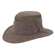 Mash-Up Hemp Hat in brown