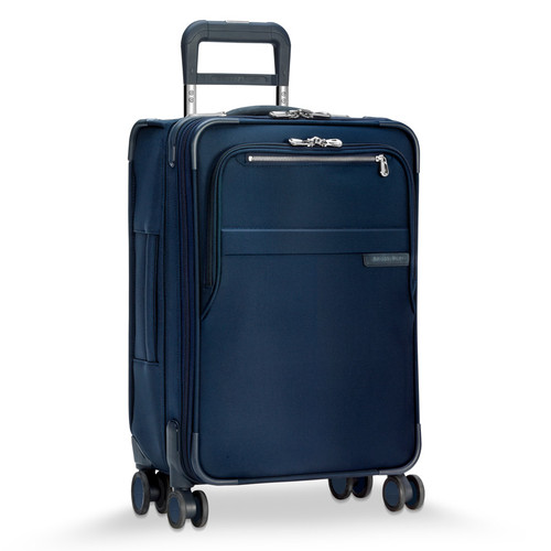 Baseline domestic carry-on spinner in navy