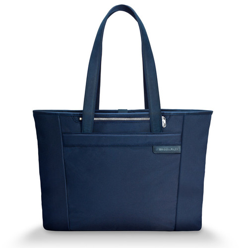 Baseline large shopping tote in navy