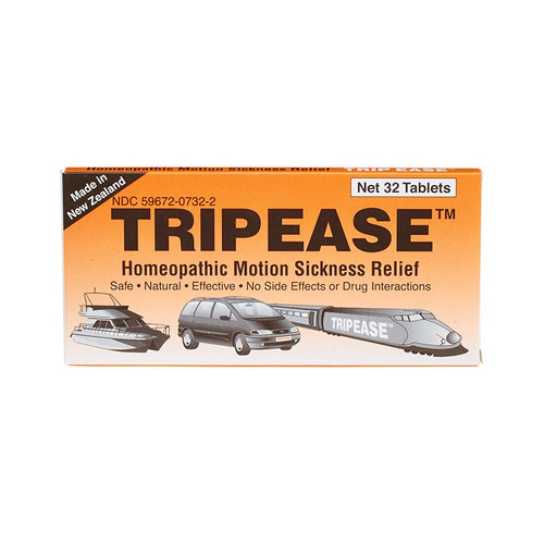 Tripease provides all natural plant-based relief for motion sickness
