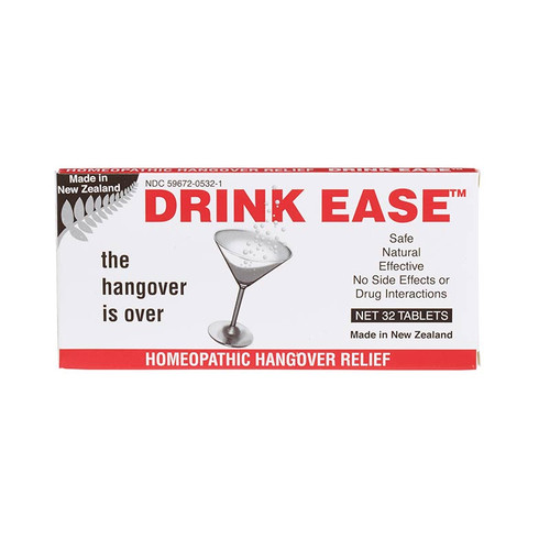 Drink Ease provides hangover relief from its plant-based ingredients