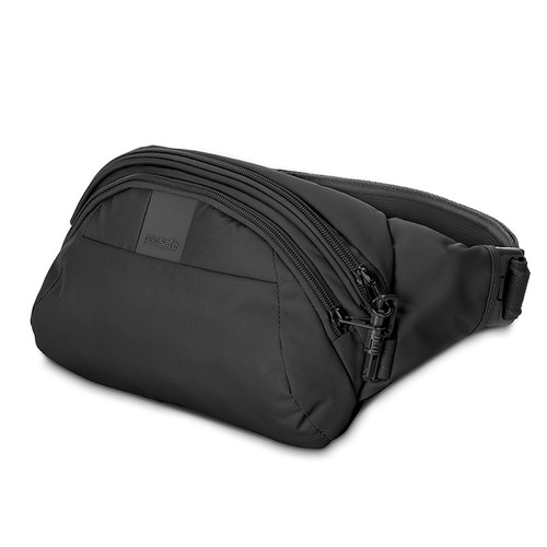 MetroSafe LS120 Anti-Theft Hip Pack in black
