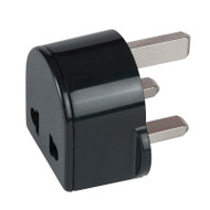 UK Adapter Plug - non-grounded accepts North America 2-prong plugs.