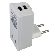 Continental Europe Adapter with USB ports