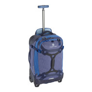 Gear Warrior wheeled duffel carry-on in arctic blue
