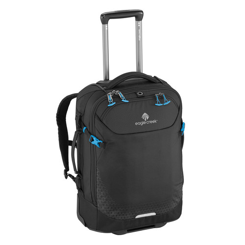 Expanse convertible int'l carry on and backpack in black