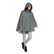 Waterproof poncho in starlight