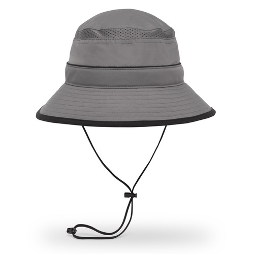 Solar Bucket Hat in charcoal
