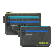 currency and passport organizer (set of 2)