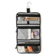 Baggallini trifold toiletry kit in black