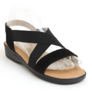 Monterey sandal in black
