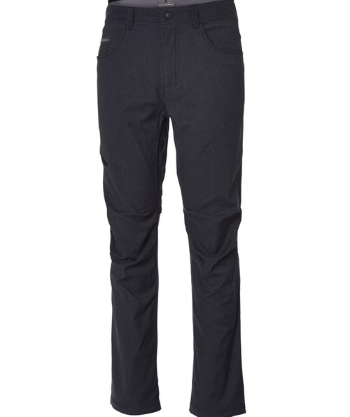 Men's alpine road travel pant in charcoal