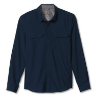 Men's Global Expedition traveler shirt in orion blue