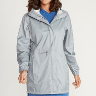 Women's Lagoa rain jacket in sleet
